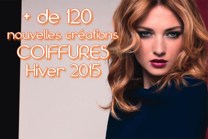 Coupe et coiffure DESSANGE Paris pour cheveux longs - Tendances Automne-Hiver 2014-2015