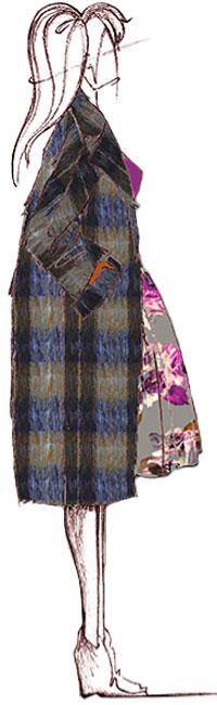 La couleur Pantone ALUMINIUM par Trina Turk
