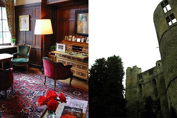 Les ruines du Château médiéval de Beaufort et le bureau du château Renaissance (D.R.)