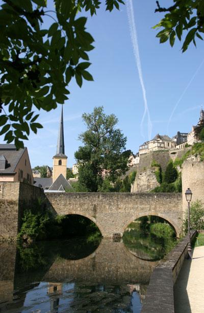 Luxembourg-ville - Le Grund - Crédit : R.L.H.