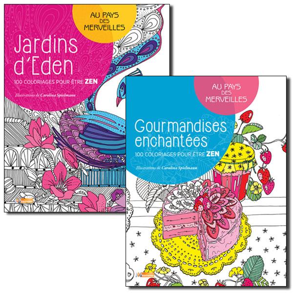 Idée cadeau de Noël Les COULEURS n° 5 - Carnets de coloriage antistress