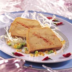 Foie gras de canard en terrine façon Compagnons du Goût