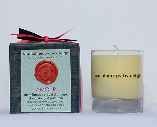 Bougie 'Amour' Aromatherapy by design 2015