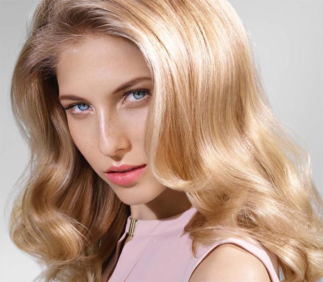 Cheveux ondulés et longs - Coiffure INTERMEDE - printemps-ete 2015