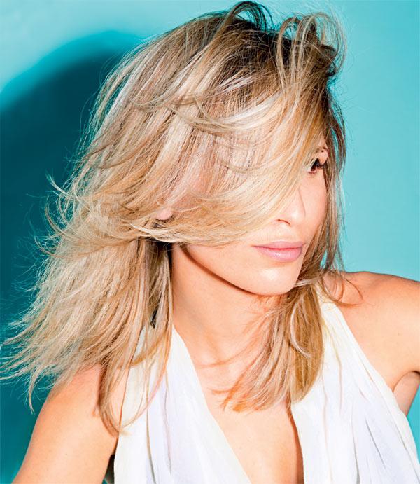 Cheveux fins et longs - Coiffure MOD's HAIR - printemps-été 2015
