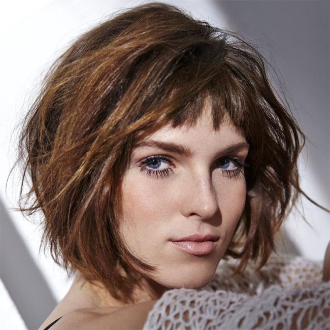 Coiffure cheveux mi-longs - HAIRCOIF - tendances printemps-été 2015