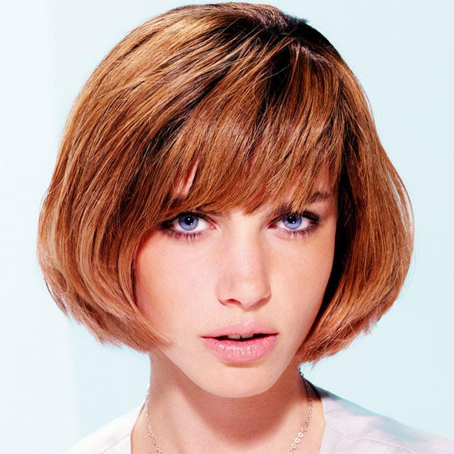 Coiffure cheveux mi-longs - Michel DERVYN - tendances printemps-été 2015
