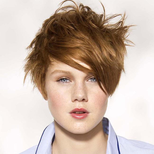 Coiffure cheveux courts - SAINT ALGUE - tendances printemps-été 2015
