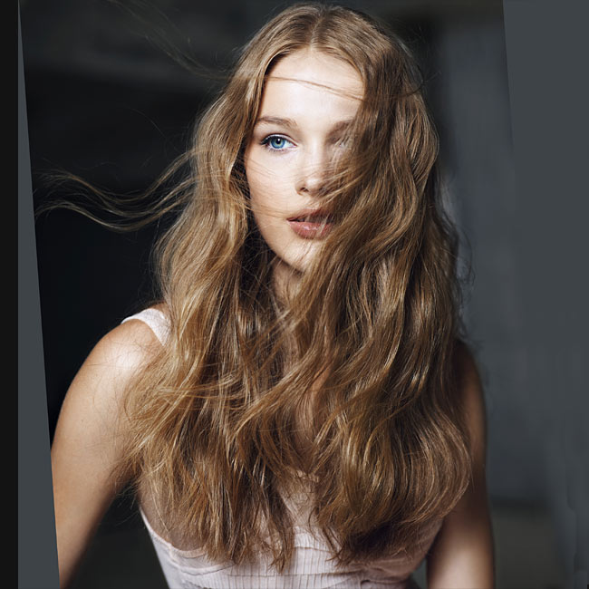 Coiffure cheveux longs - SERGIO BOSSI - tendances printemps-été 2015