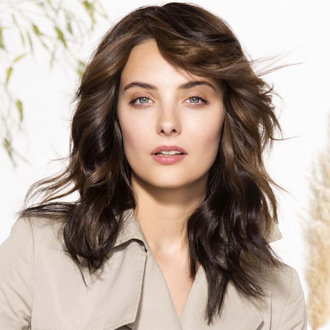 Coiffure cheveux longs - SAINT ALGUE - tendances printemps-été 2015