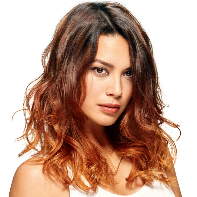 Coiffure cheveux longs - SHAMPOO - tendances printemps-été 2015