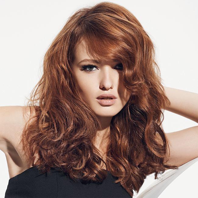 Coiffure cheveux longs - Franck PROVOST - tendances printemps-été 2015