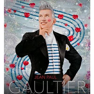 Détail affiche exposition rétrospective Jean-Paul Gaultier © Pierre et Gilles.