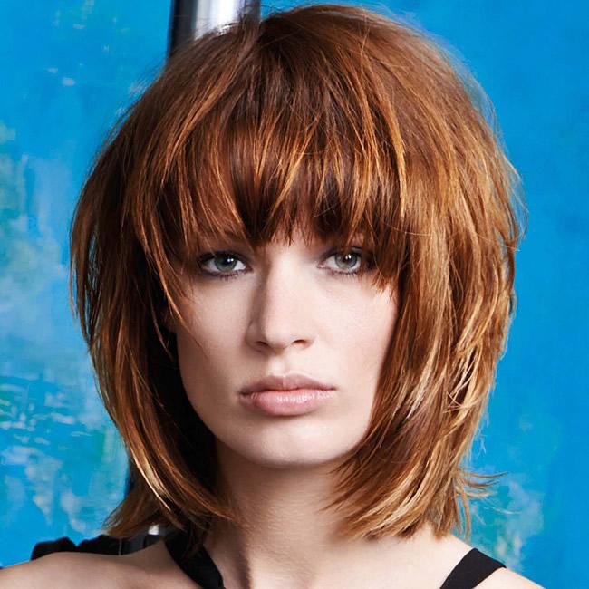 Coiffure cheveux mi-longs - FABIO SALSA - tendances automne-hiver 2015-2016