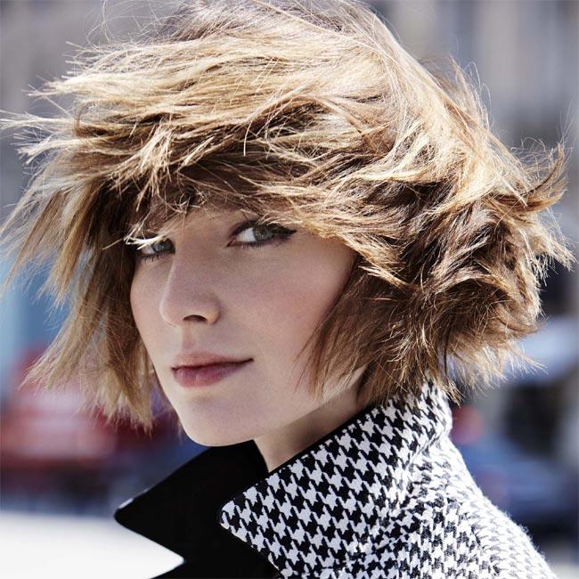 Coiffure cheveux mi-longs - Jean-Louis DAVID - Tendances automne-hiver 2015-2016