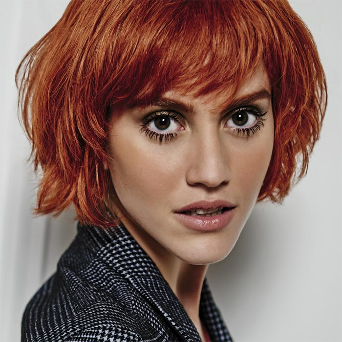 Coiffure cheveux mi-longs - HAIRCOIF - Tendances automne-hiver 2015-2016
