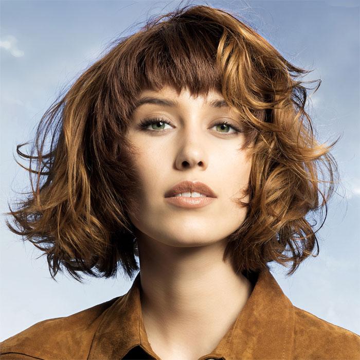 Coiffure cheveux mi-longs - SAINT ALGUE - Tendances automne-hiver 2015-2016