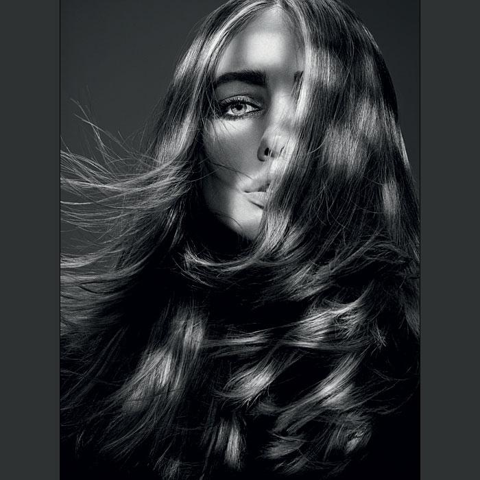 Coiffure cheveux longs - DESSANGE Paris - Tendances automne-hiver 2015-2016