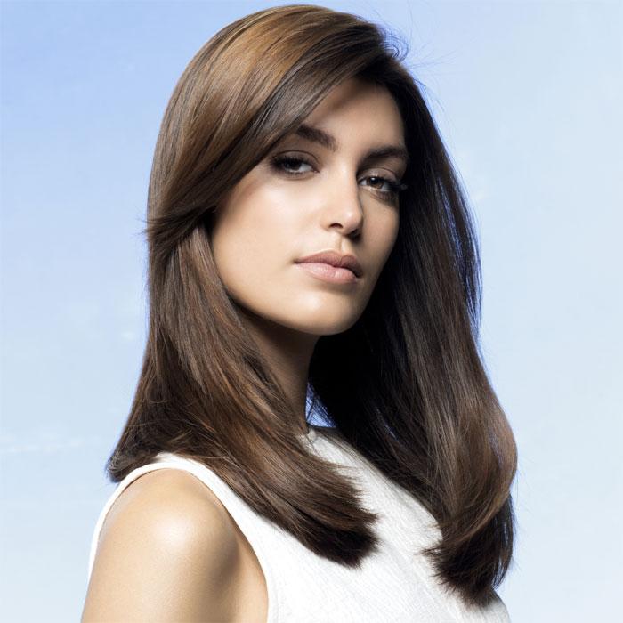 Coiffure cheveux longs - INTERMEDE - Tendances automne-hiver 2015-2016