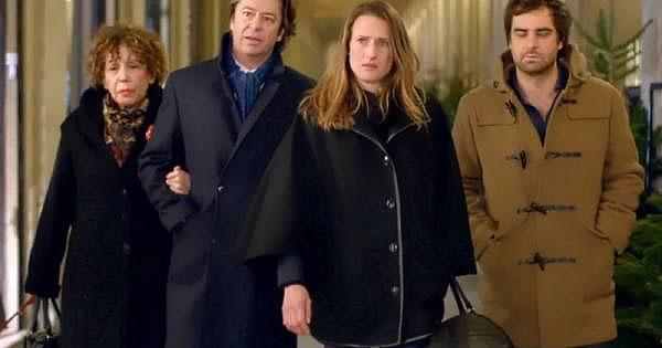 '10 pour cent', les 4 principaux protagonistes de la série - Photo Christophe Brachet/FTV