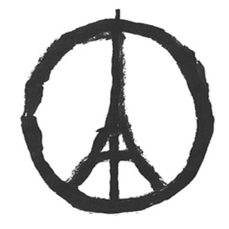 Paris affiche sa devise face aux attentats : Fluctuat nec mergitur*