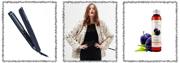 3 variations autour d'un look BOSS Women : lisseur Corioliss, veste MERCED RIVER, Huile bio AROMA-ZONE