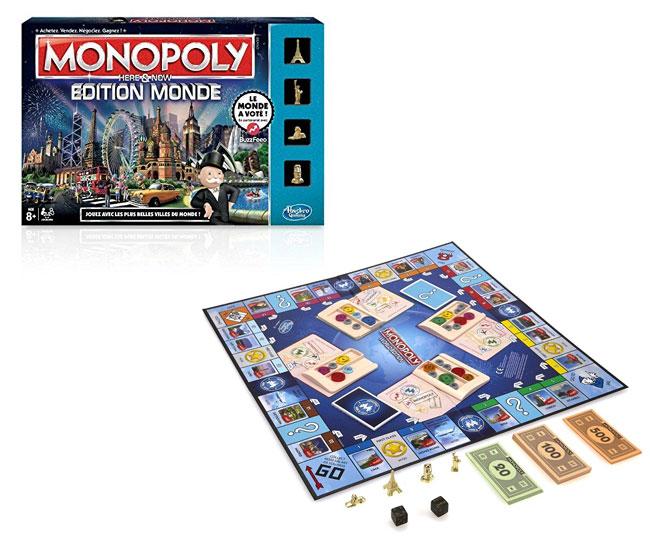 Monopoly édition Monde