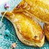 Poissons d'avril, feuilletés saumon et épinard
