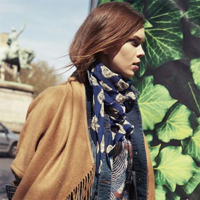 Shopping spécial grand froid : cape ou poncho en superposition