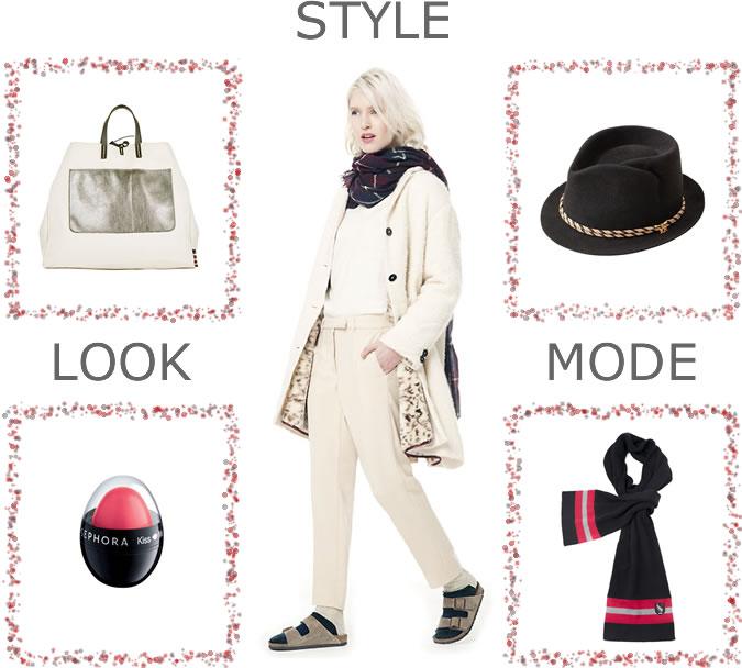 Comment accessoiriser un look BELLEROSE : chaussures, sac, écharpe...