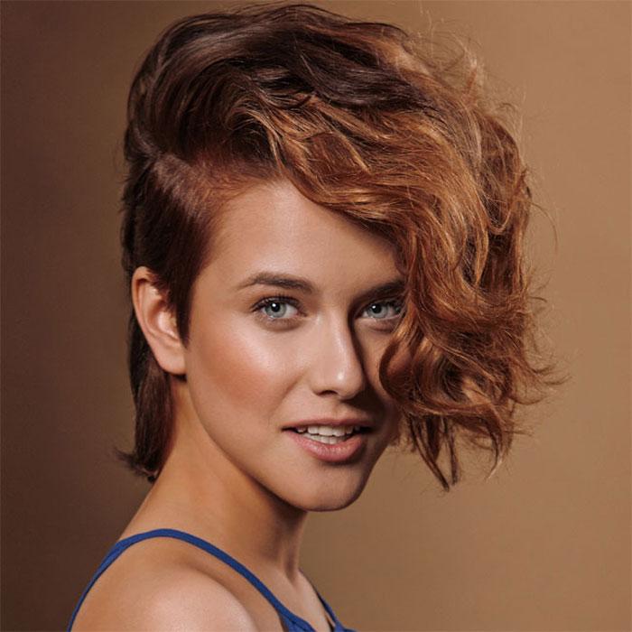 Coiffure cheveux mi-longs - Franck de ROCHE - tendances Printemps-été 2016