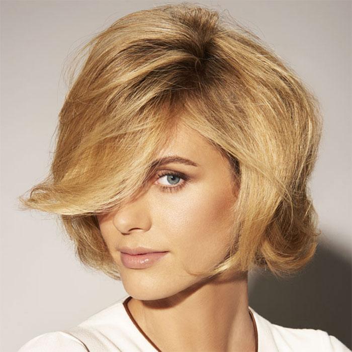 Coiffure cheveux mi-longs - Franck PROVOST - tendances Printemps-été 2016