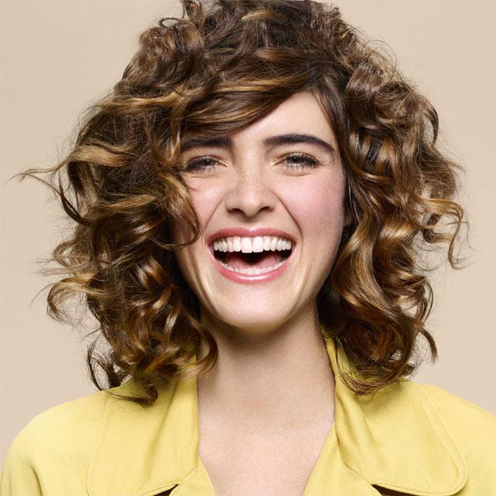 Coiffure cheveux mi-longs - Camille ALBANE - tendances Printemps-été 2016