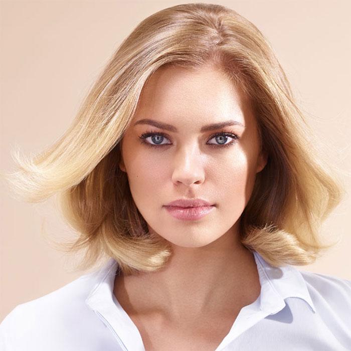 Coiffure cheveux mi-longs - INTERMEDE - tendances Printemps-été 2016