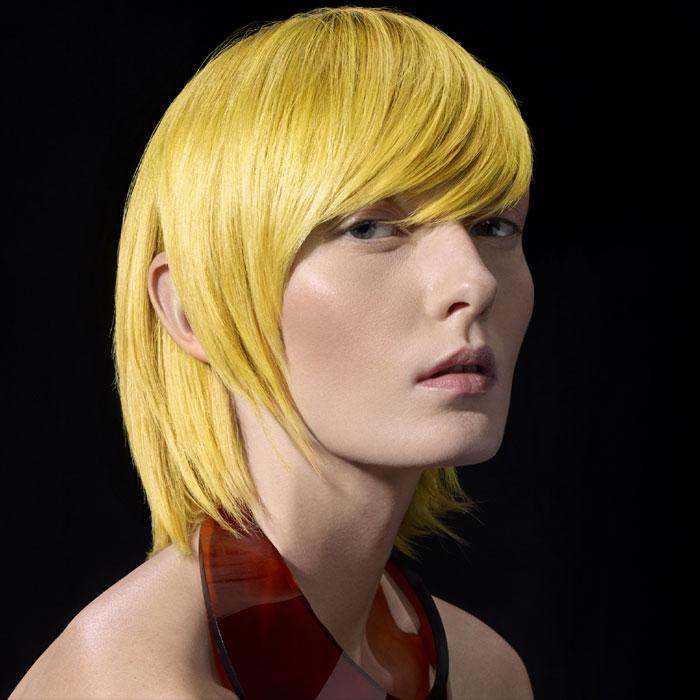 Coiffure cheveux mi-longs - DESSANGE Paris - tendances Printemps-été 2016