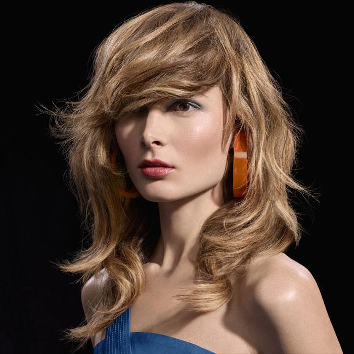Coiffure cheveux longs - DESSANGE Paris - tendances Printemps-été 2016