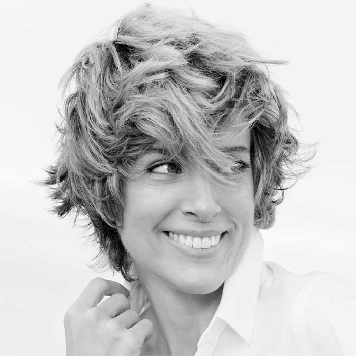 Coiffure cheveux courts - SAINT ALGUE - Tendances Printemps-été 2016