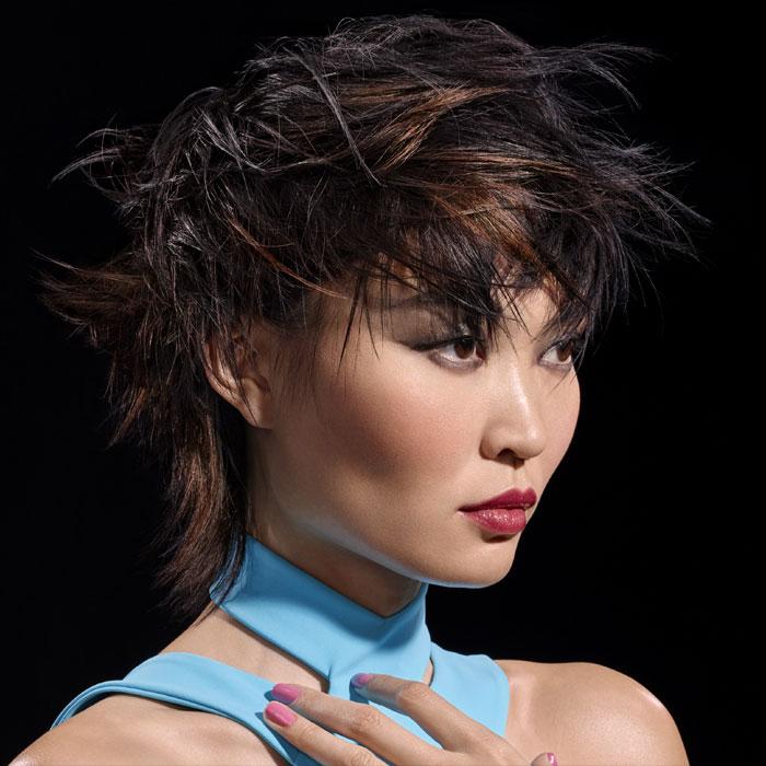 Coiffure cheveux courts - DESSANGE Paris - Tendances Printemps-été 2016