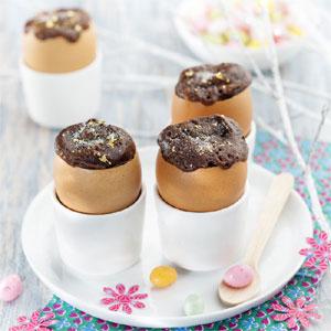 Spécial Pâques : moelleux rapides aux œufs et au chocolat