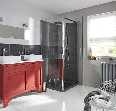 Le style scandinave dans la salle de bain.