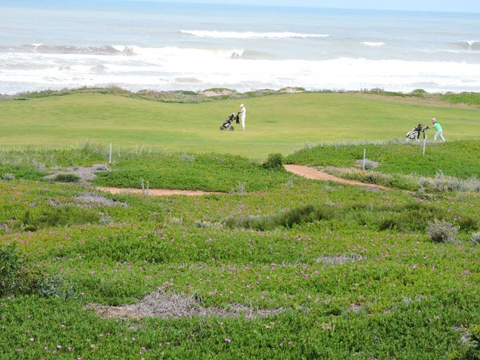 Le golf '18 trous' du Mazagan (D.R.).