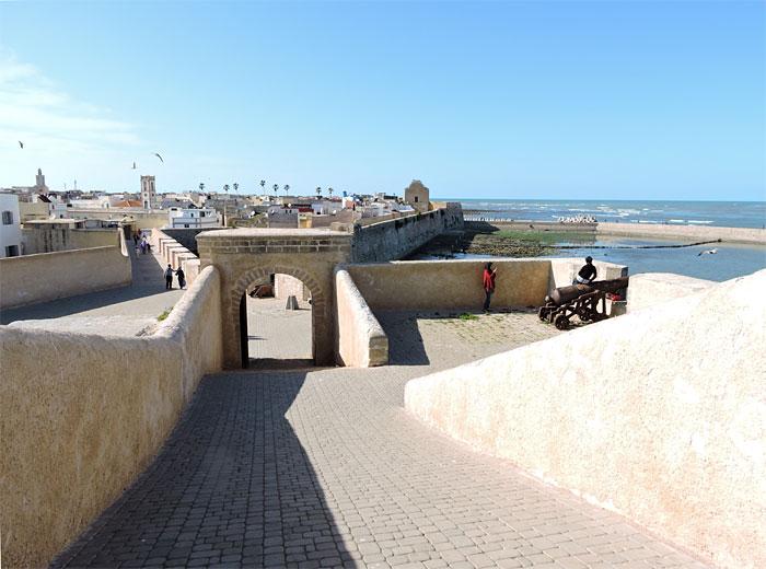 a ville portuaire d'El Jadida. (D.R.)