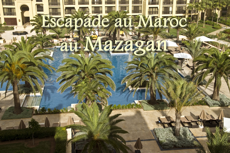 Maroc : escapade réjouissante au Mazagan au bord de l'océan