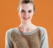 pull raglan bi-matière au point jersey - explications gratuites