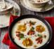 Recette de chef : velouté de pommes de terre au maïs et au chorizo