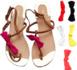 tendance : assortir ses chaussures à tous ses vêtements d'été
