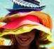 bonne résolution de l'été : sous un chapeau de paille se protéger