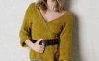 Modèle expliqué : gilet féminin en jersey à tricoter © Phildar.