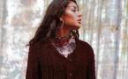 Explications gratuites gilet vintage au point jersey à tricoter - Création Phildar.