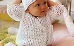 cache-coeur au crochet © Phildar